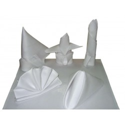 Serwetka 45x45cm (biała, bordowa, ecru, różowa)