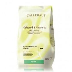 Callebaut - czelolada o smaku limonki 37,8 % kakao