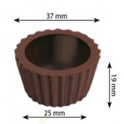 Kieliszek z czekolady deserowej Clasic