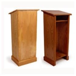 Mównica drewniana
